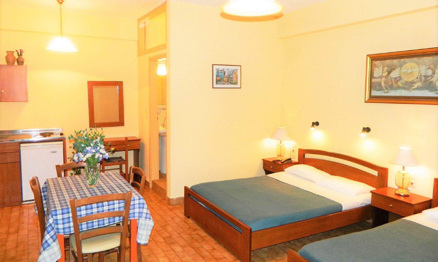 Two Room Apartment Chania | Zorbas Beach Village Hotel